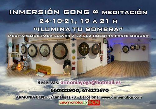 """inmersi\u00f3n gong \u221e Meditaci\u00f3n """"La Sombra"""""""