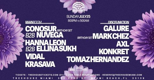 Sunday Sessions @ Treehouse Miami