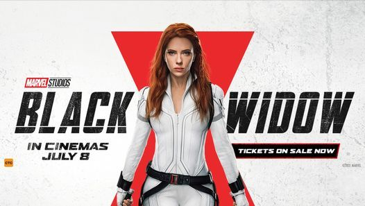 Black Widow Advance Screening at New Farm Cinemas, New Farm Cinemas, 7 July  2021