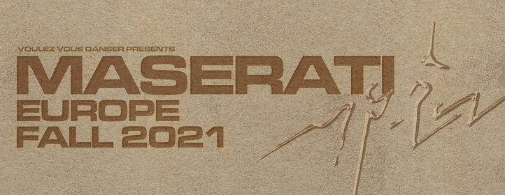 Maserati \/ 12.10.21 \/ Petit Bain
