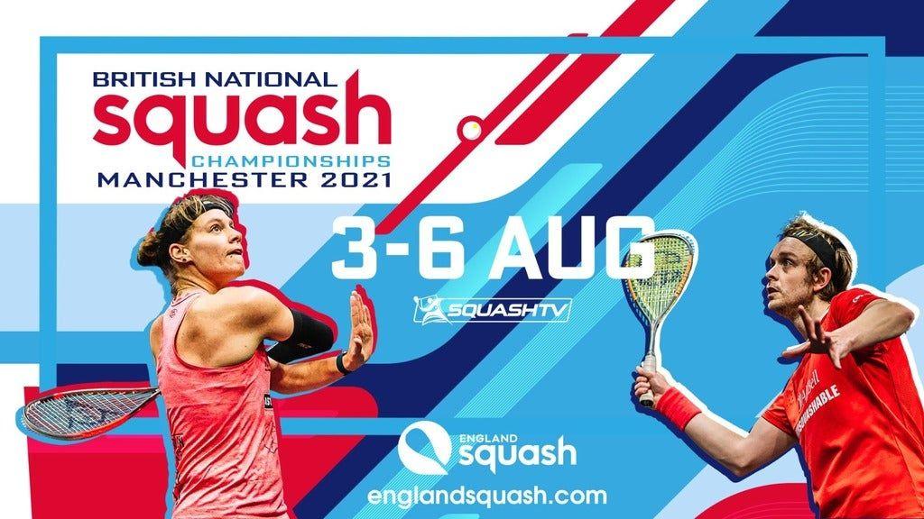 British National Championships Squash 2021 - Quarter Finals Session 1