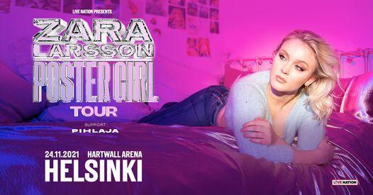 Zara Larsson (SWE) Hartwall Arena, Helsinki 24.11.2021