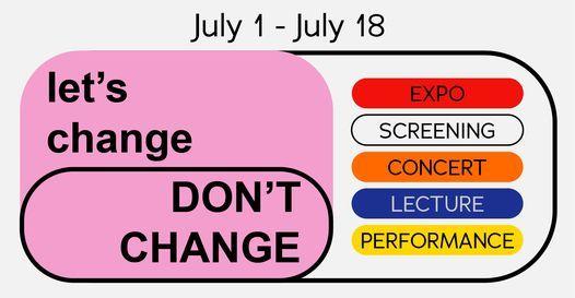 Let's change, DON'T CHANGE   BEGIJNHOF HASSELT