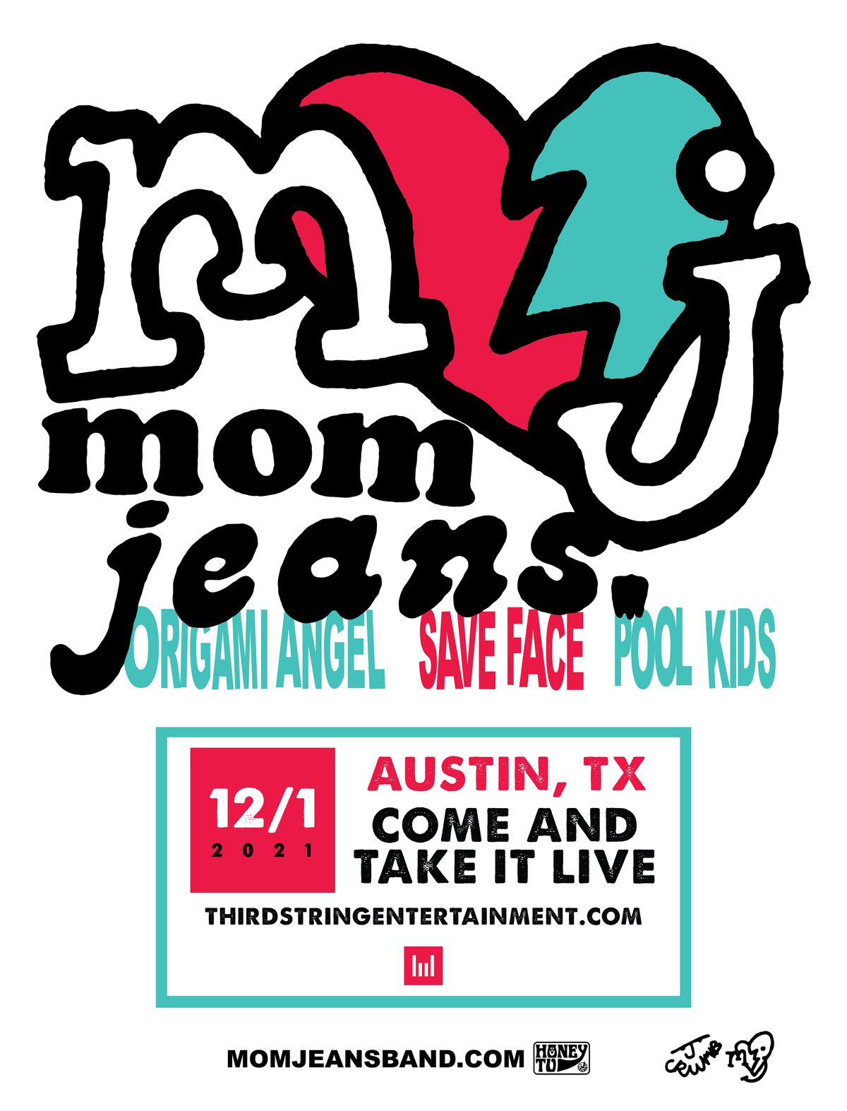 MOM JEANS.