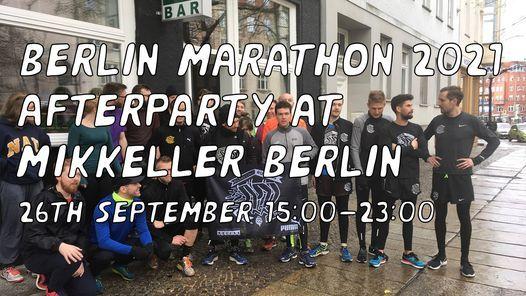 Berlin Marathon 2021 Afterparty at Mikkeller Berlin