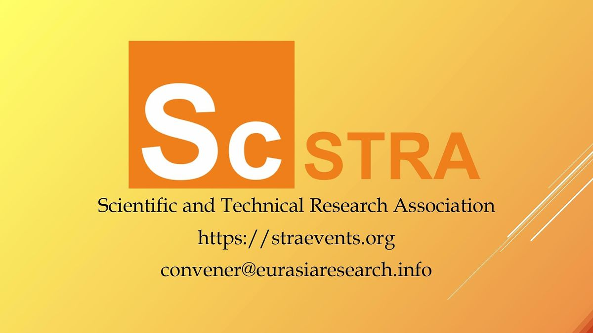 ICSTR Amsterdam \u2013 International Conference on Science & Technology Research