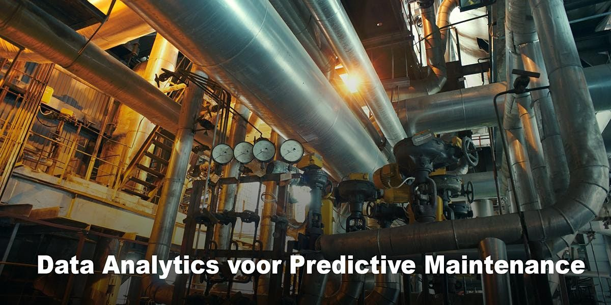 Data Analytics voor Predictive Maintenance | 4, 5 nov en 8 dec 2021