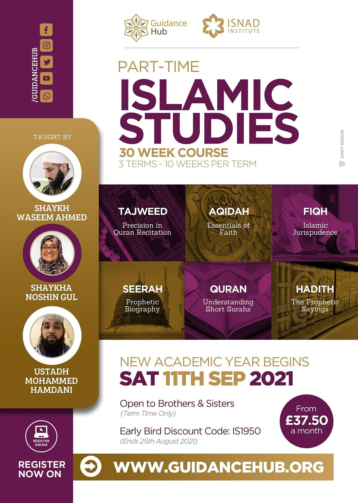 Free Islamic Studies Discovery Day   Manchester   Sat 4th September