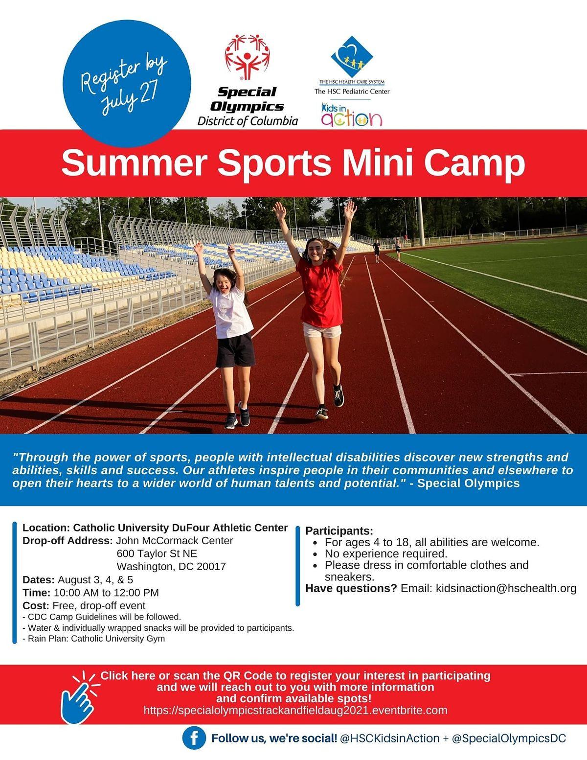 Summer Sports  Mini Camp