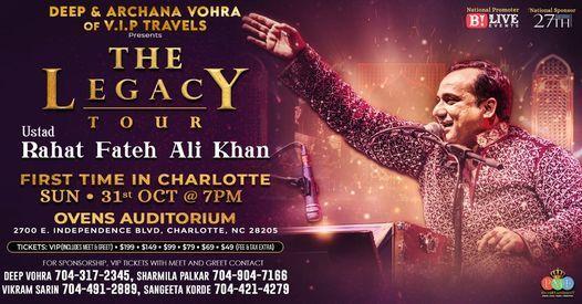 Rahat Fateh Ali Khan Live in Concert at Charlotte