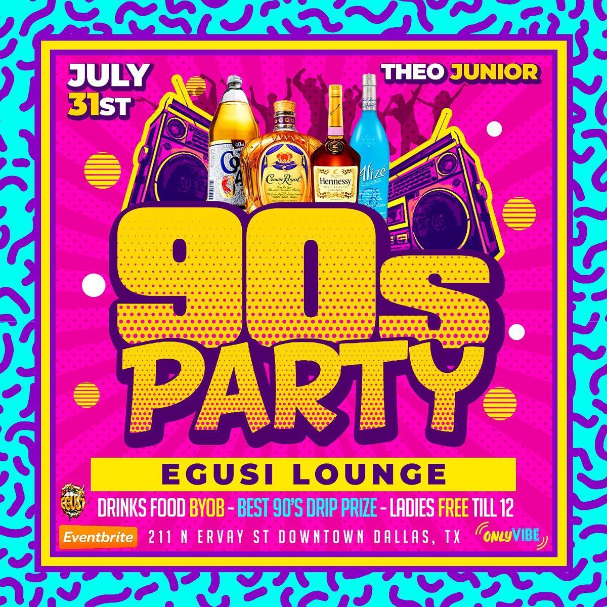 90s  Party at Egusi