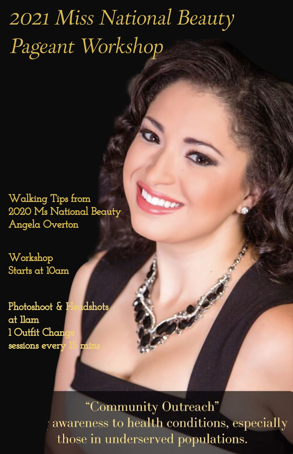 Pageant Workshop and Photoshoot