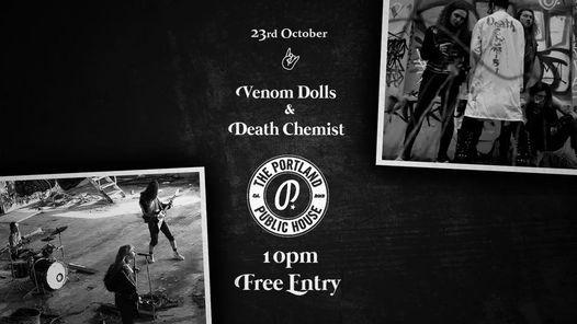 Venom Dolls & Death Chemist @ The Portland Public House