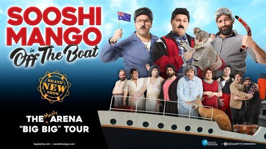 Sooshi Mango: Off The Boat [Townsville]