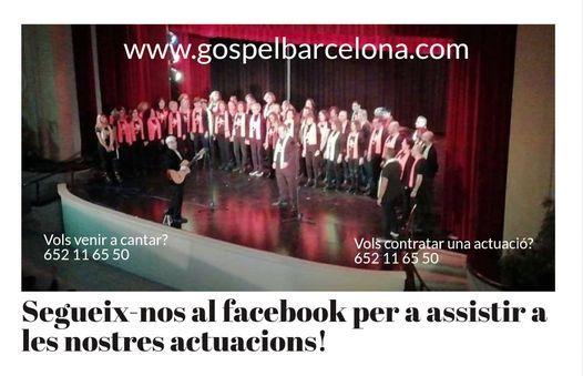 Cantar coral de gospel en barcelona
