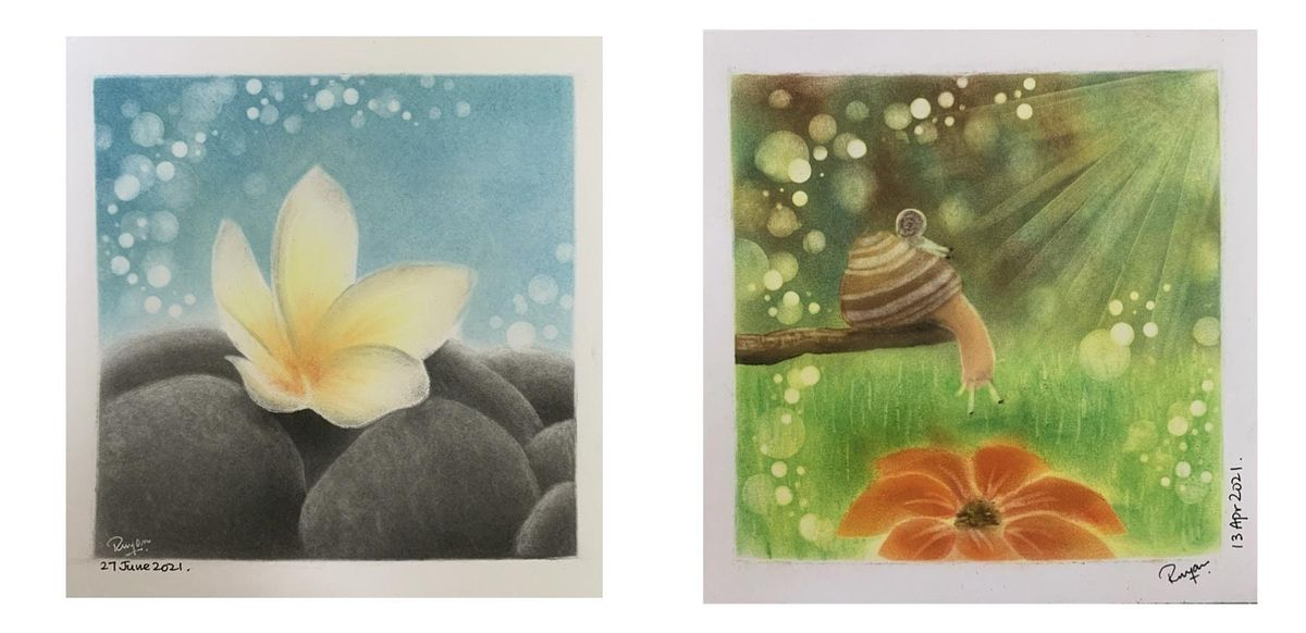 Pastel Art Course starts  Oct 11 (8 sessions)