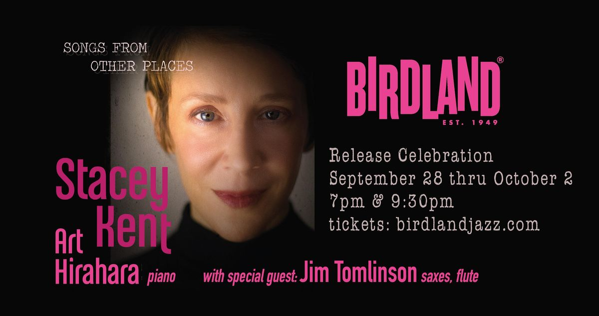 """Stacey Kent and Art Hirahara """"Songs from Other Places"""" Album Release"""
