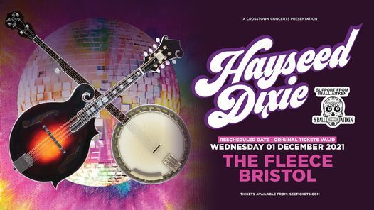 Reschedule: Hayseed Dixie & 8 Ball Aitken at The Fleece, Bristol