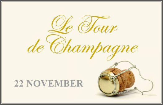 PERSWIJN proeverij Le Tour de Champagne (professionals)