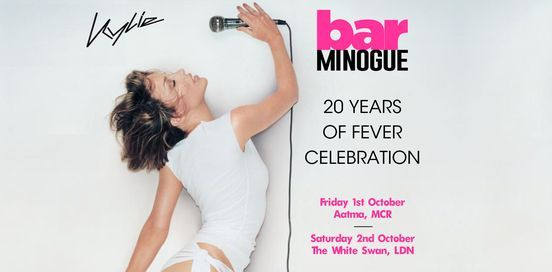 20 Years Of Fever: Kylie Disco \/\/\/ Aatma, Manchester \/\/\/ Fri 1st Oct 2021