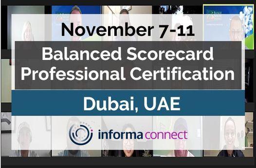 Balanced Scorecard Professional Certification