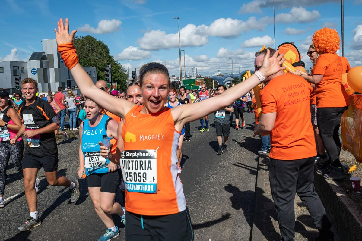 Maggie's charity place application form - Great Manchester Run 2021