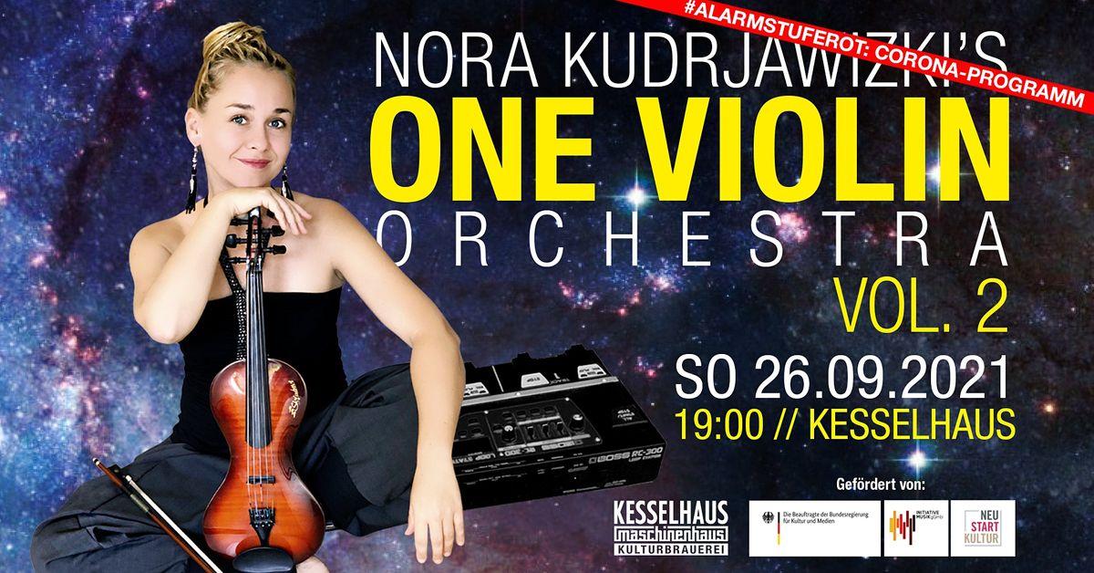 Nora Kudrjawizki's - One Violin Orchestra Vol. 2