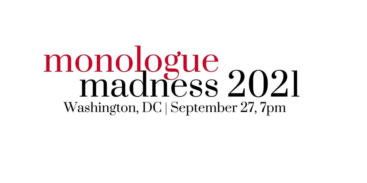 Monologue Madness DC | 2021