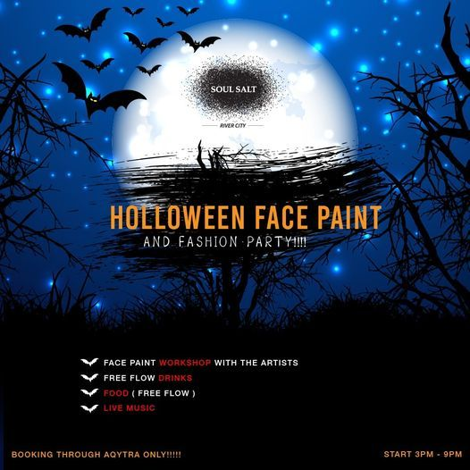 Soul Salt Halloween Face Paint and Fashion Costume Party