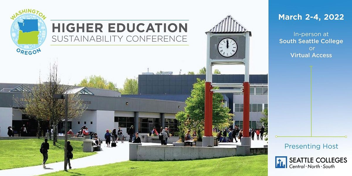 Washington Oregon Higher Education Sustainability Conference (WOHESC) 2022