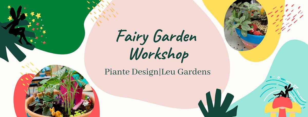 Family Fairy Garden Workshop