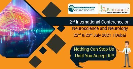 2nd International Conference on Neuroscience and Neurology