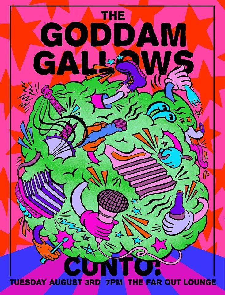 The Goddamn Gallows w\/ Cunto!