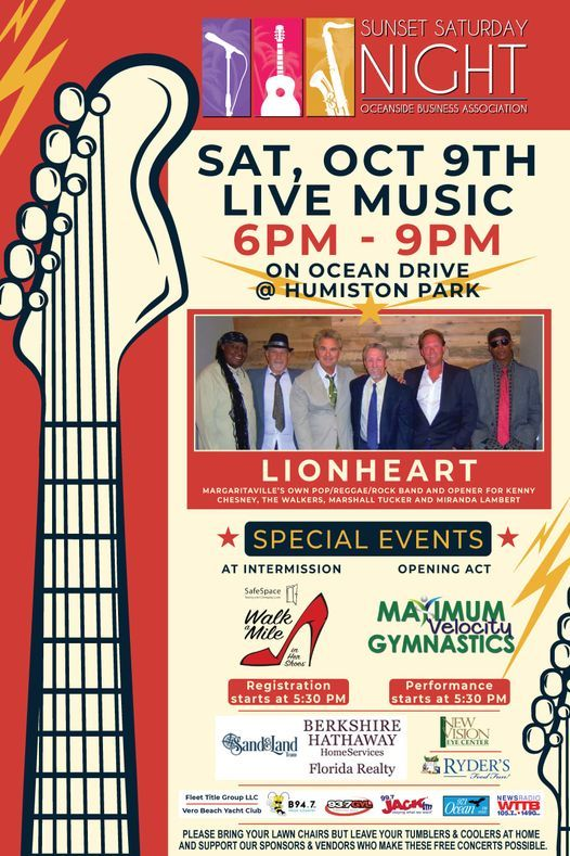 Sunset Saturday Night Concert - Oct 2021