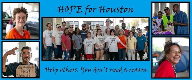 HOPE for Houston July outreach