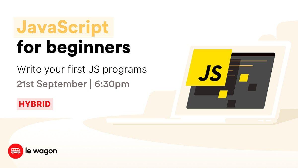 [Workshop] Get Started with Javascript!