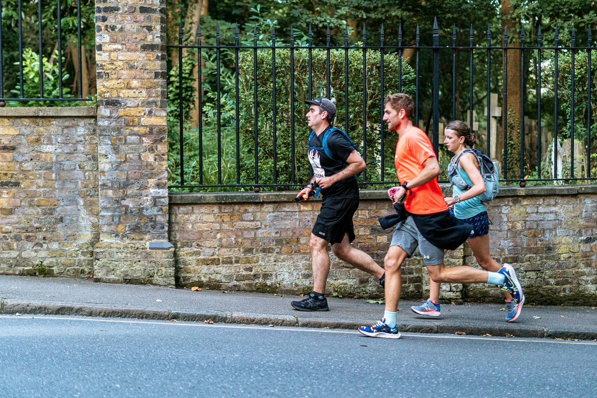 Never Stop London Tuesday Session - Elevation Run