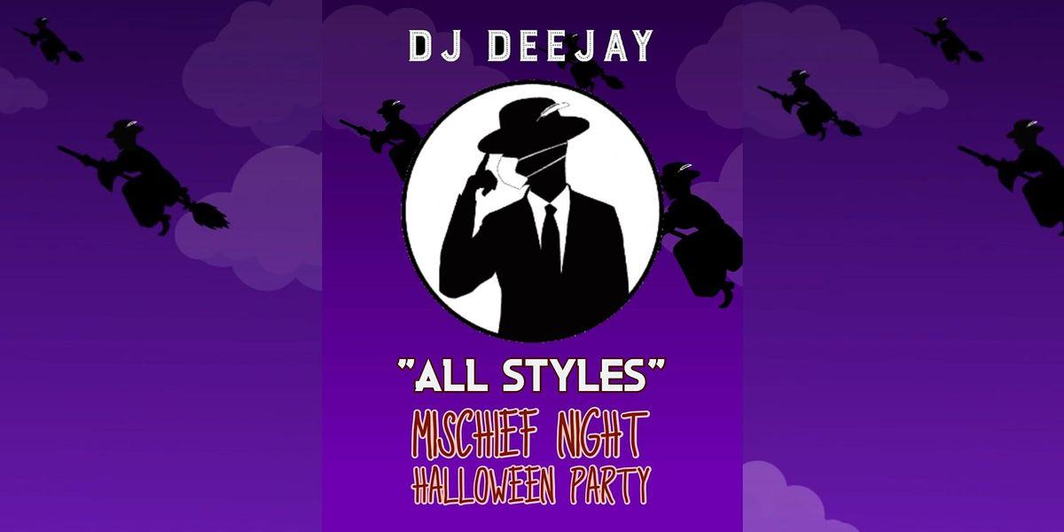 DJ Deejay Silk City Halloween Party