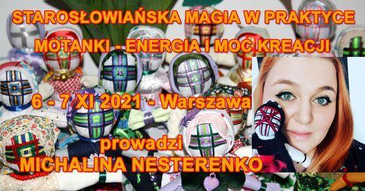 Staros\u0142owia\u0144ska Magia w Praktyce. Motanki - Energia i Moc Kreacji