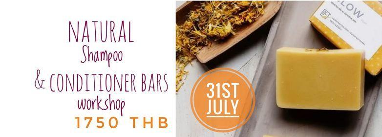 Natural Shampoo & Conditioner Bar Workshop