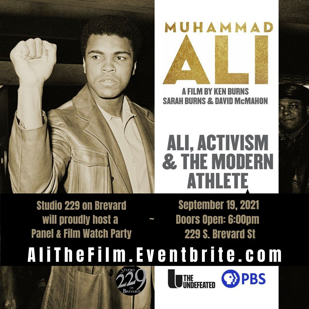 Muhammad Ali PBS Premier Event-Panel & Film Debut Watch Party