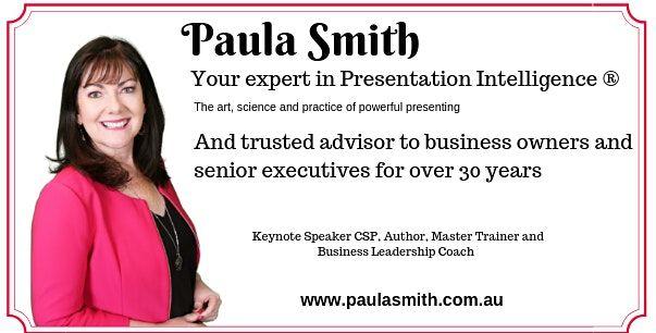 Presentation Skills - Public Speaking Master Class with Paula Smith CSP