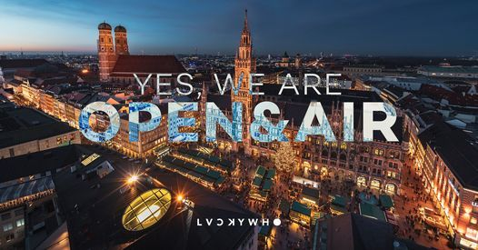 YES, WE ARE OPEN & AIR