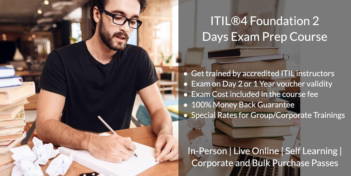 10\/27  ITIL  V4 Foundation Certification in Charlotte