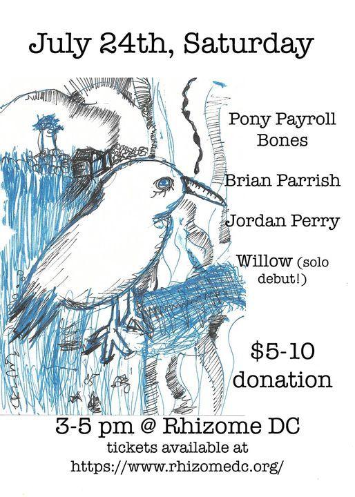 Brian Parrish+Pony Payroll Bones \/ Jordan Perry \/ Willow \/ Safra