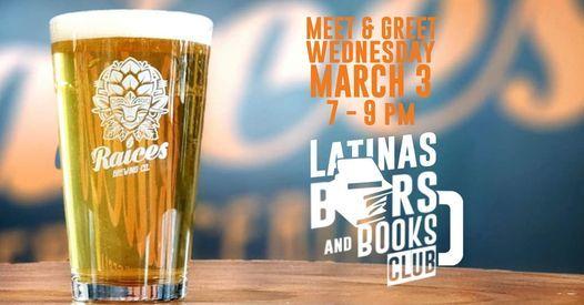 Latinas Beers & Books Club