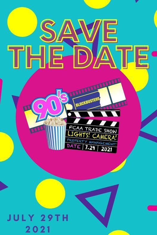 Trade Show: 90s Blockbusters - Lights, Camera, PROPERTY MANAGEMENT!