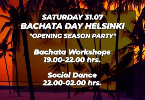 "Bachata Day Helsinki ""Opening Season Party"""