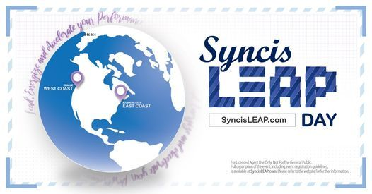 2021 SYNCIS LEAP Day (West Coast)