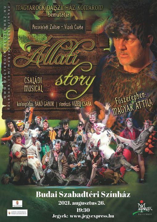 \u00c1llati Story - csal\u00e1di musical